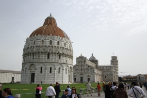 The Duomo and The Baptistery